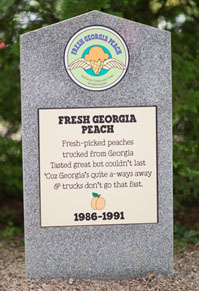 Fresh Georgia Peach
