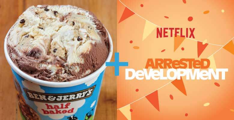 Combina Half Baked con Arrested Development