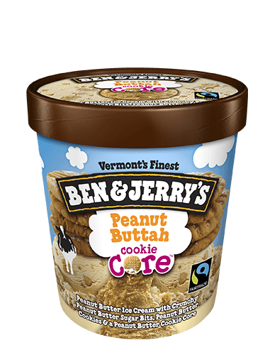 Peanut Buttah Cookie Core Pint